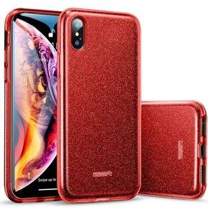 iPhone XS/ XS Max Case Glitter Heavyduty